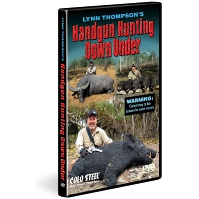DVD Cold Steel - Handgun Hunting Down Under demonstratie, vanatoare, tehnici, vanatoresti, arme