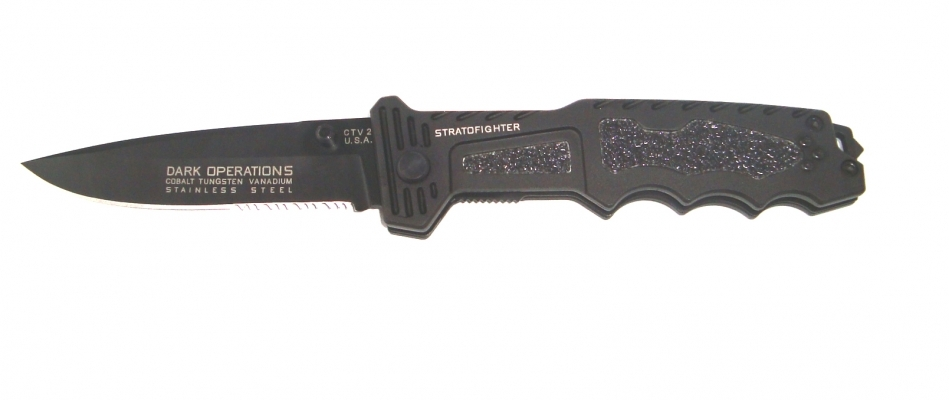 Briceag tactic Darkops SUA Stratofighter  26 cm, lama 11 cm