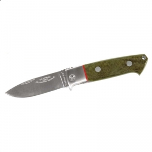 Briceag Fantoni Traditional Drop Point folding knife cutit, lama, otel, inoxidabil, piele