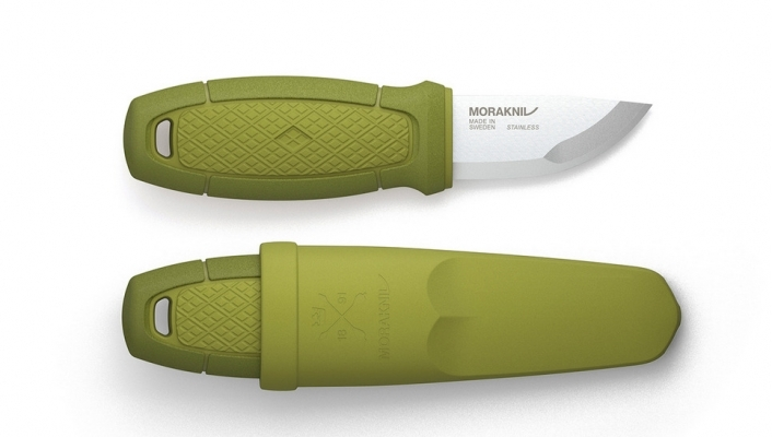 Cutit Morakniv Eldris Fire Starter Neck Knife Kit Verde 12633